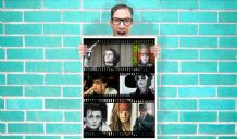 Johnny Depp - Wall Art Print Poster   -  Poster Geekery